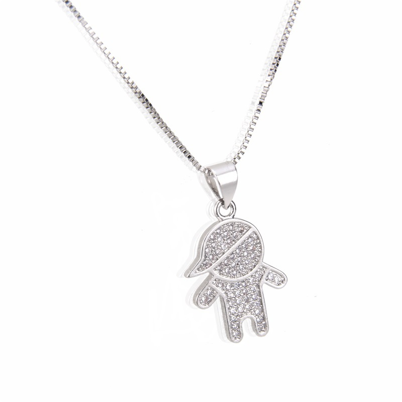 Copper Fashion Animal necklace  (Alloy plating)  Fine Jewelry NHBP0399-Alloy-plating