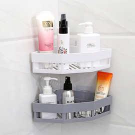 A2605无痕贴三角置物架卫生间收纳架厨房浴室洗漱用品架子储物架