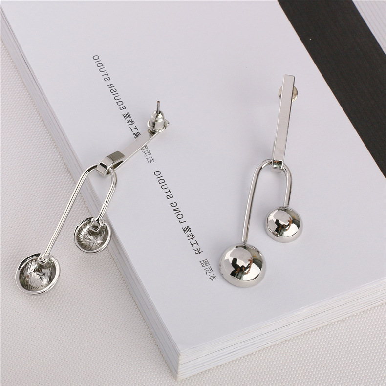 New platinum personality earrings for women wholesale NHQS194696