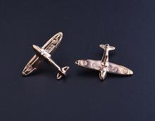 欧美复古金属飞机衬衫男女领针外套配饰服装搭配胸针刺马针小领针