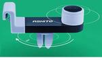 汽车磁性手机座360度旋转金属标车载强磁手机架磁铁支架