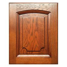 廠家直銷實木櫥柜柜門衣柜門板定做美國紅橡原木歐式門板定制白胚