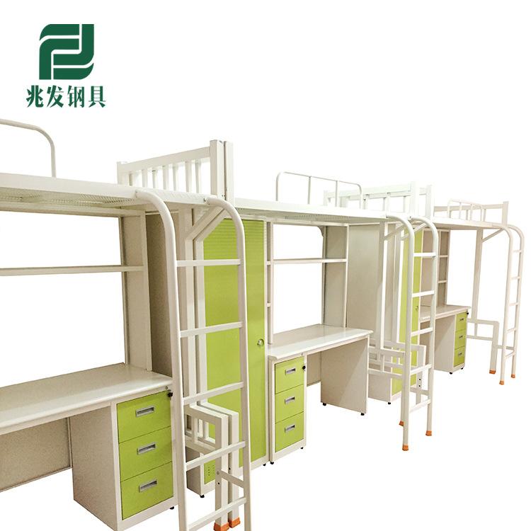 多功能大学生宿舍床 双层上下床 成人衣柜书桌组合床 厂家直销