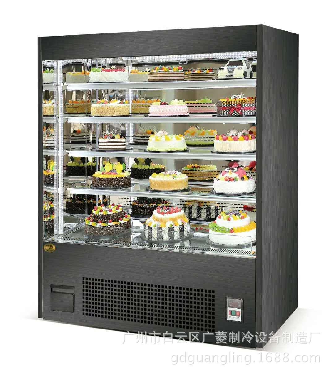广菱商用制冷设备  蛋糕展示柜  食品柜   立式非标三明治柜
