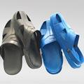 防静电拖鞋 低帮防静电凉鞋 SPU凉鞋 SPU拖鞋 蓝黑双色 厂家批发