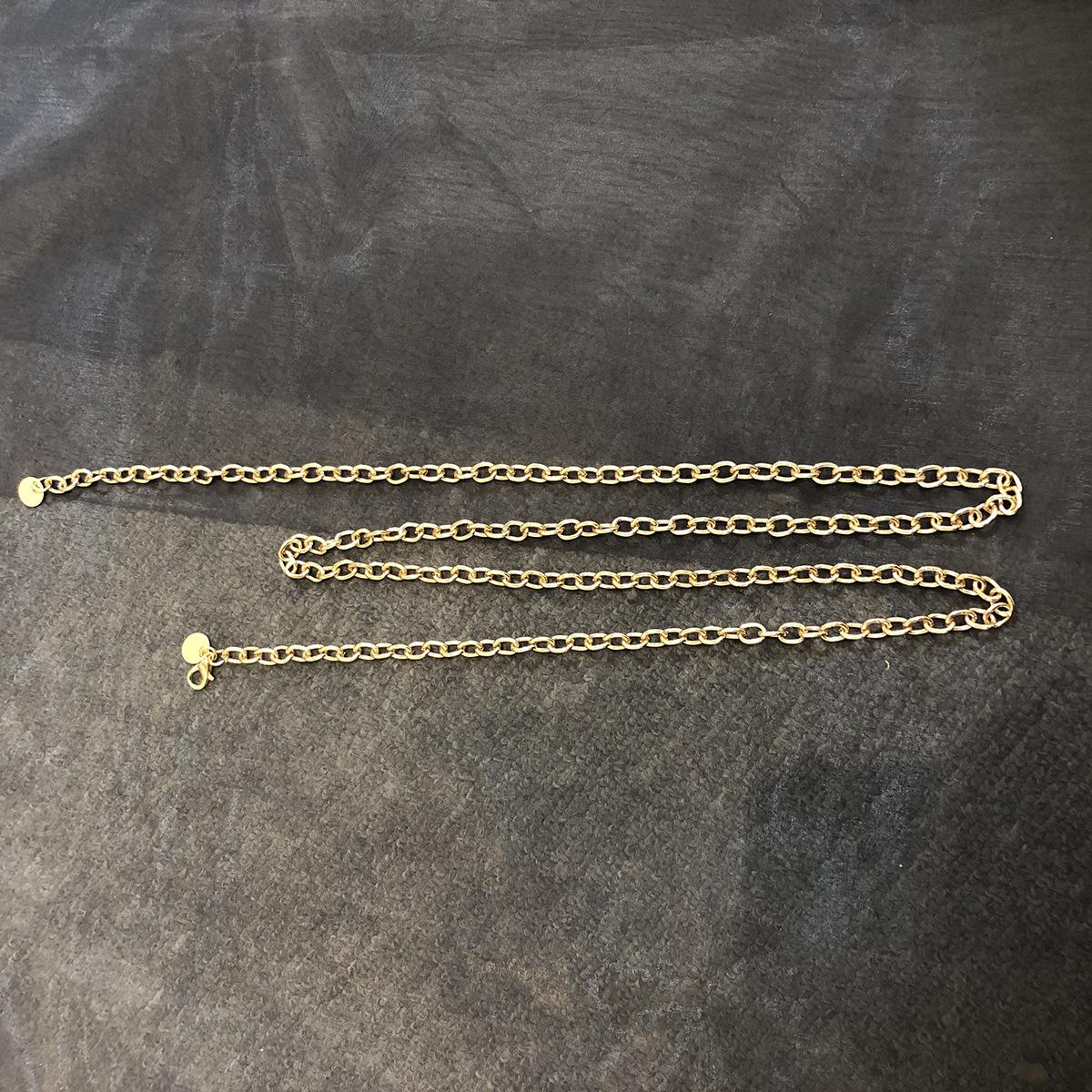 Alloy Fashion Tassel Body accessories  Thin chain alloy 0406  Fashion Jewelry NHXR2716Thinchainalloy0406
