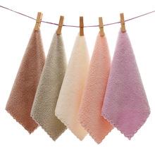 厂家直销高密珊瑚绒抹布方巾30*30抹布淘宝赠品礼品巾批发