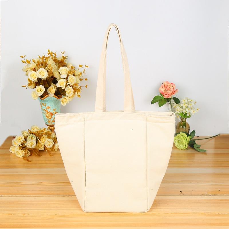 创意棉布袋帆布手提购物袋定制印logo厂家批发棉帆布袋定做