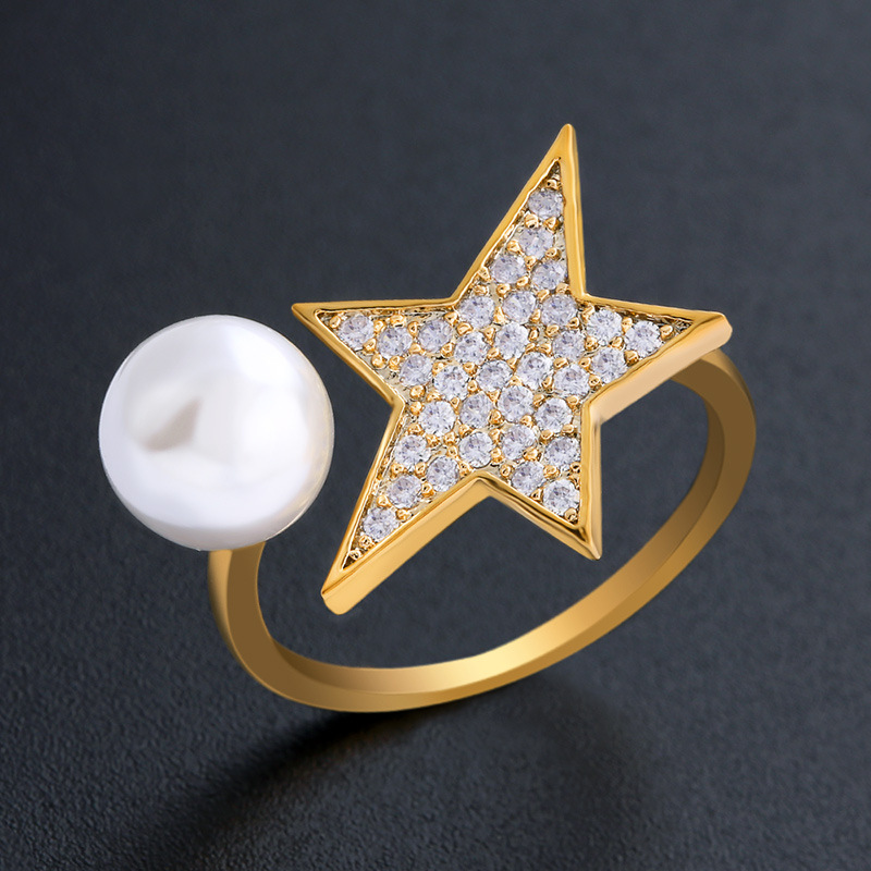Copper Simple  Ring  (Alloy-7)  Fine Jewelry NHAS0446-Alloy-7