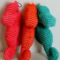 厂家直销宠物毛绒玩具 超大尺寸海洋动物三色海马