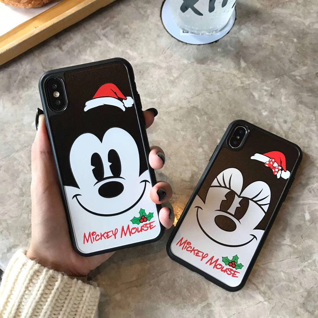 Cartoon Minnie for Apple XSmax7plus Mobile Shell iPhoneXS Cute Mickey Don Duck Collection 8P