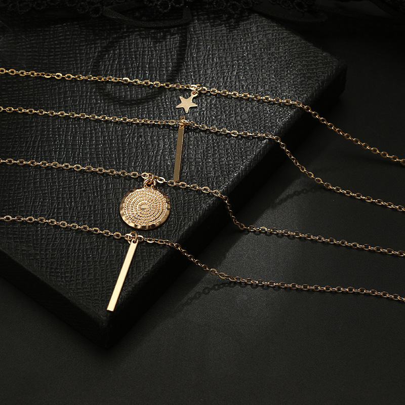 Alloy Simple Geometric necklace  Alloy NHGY2260Alloy