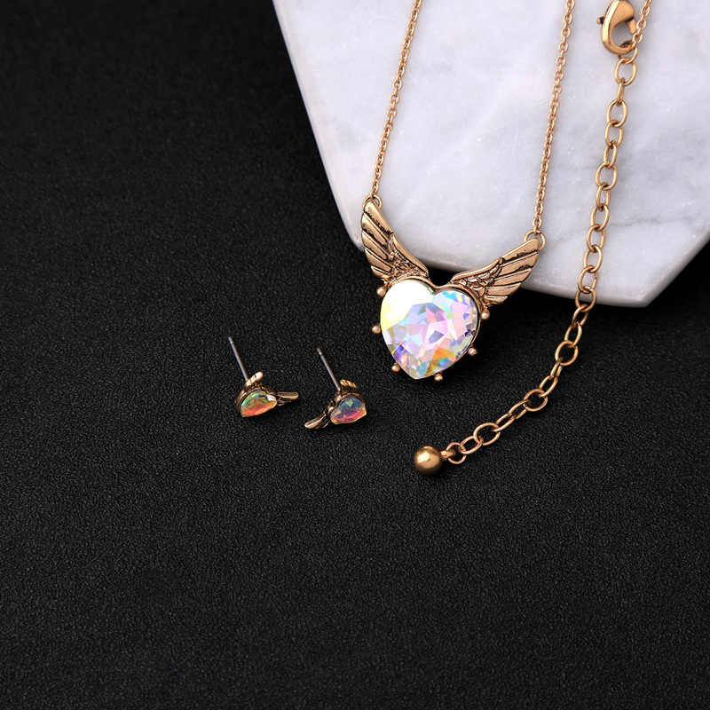 Alloy Fashion Sweetheart necklace(Photo Color) NHQD5172-Photo Color