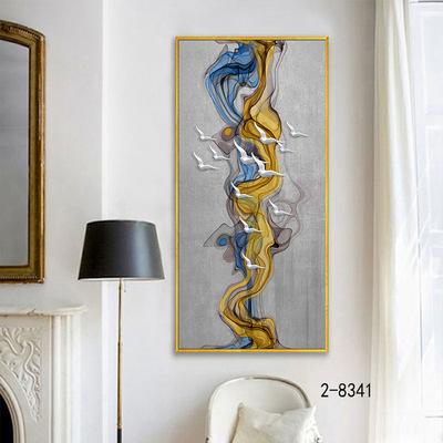 装饰画L框现代简约时尚玄关画风景花卉静物客厅隔断玄关画挂画