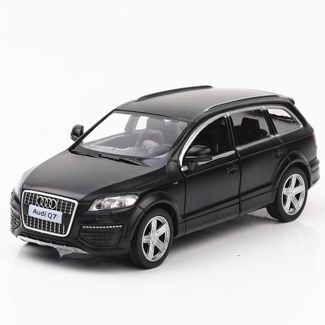 (Đóng hộp) Mẫu xe mô tô hợp kim suv của Volkswagen Audi q7 mô hình mô phỏng xe kéo trở lại một thế hệ Mẫu xe