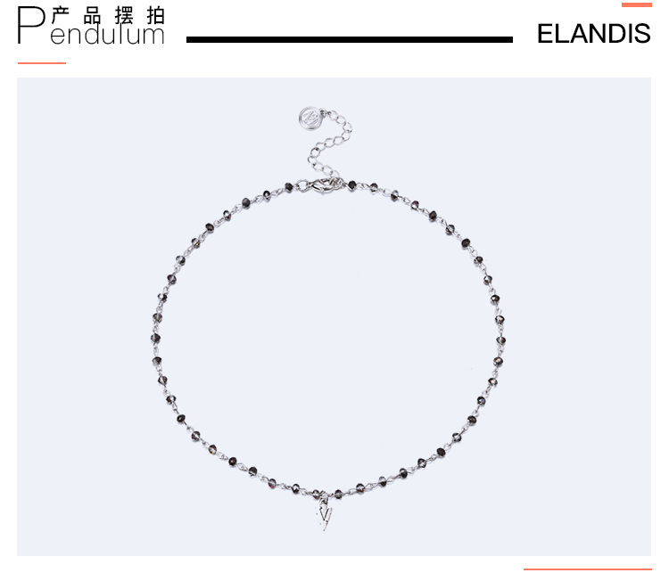 Beads Fashion Geometric necklace  (Alloy + white) NHTF0265-Alloy-white