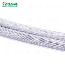 廠家直銷日本進口TOGAWA塑膠管 樹脂硅橡膠纖維管 編織增強網紋管