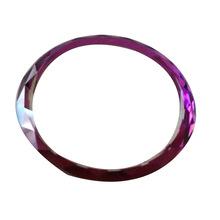 圆形钢化玻璃加工 有色原片玻璃光学玻璃 圆形钢化玻璃电紫色玻璃