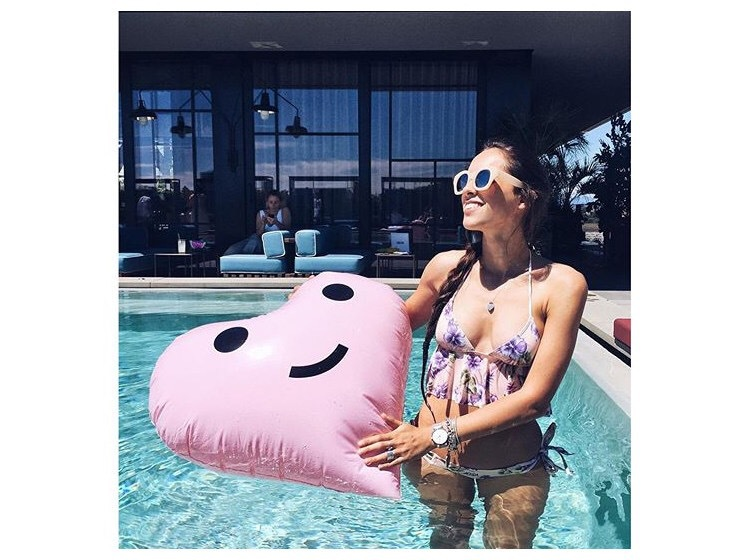 Fashion PVC inflatable love water cup holder NHWW142494