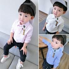 男寶開衫夏天男孩兒童襯衫男長袖百搭夏裝1-2-3-4-5歲薄款夏季201