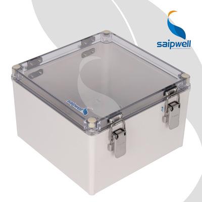 ABS过线盒塑料防水盒 仪表壳体配电箱户外监控电源盒透明盖接线盒