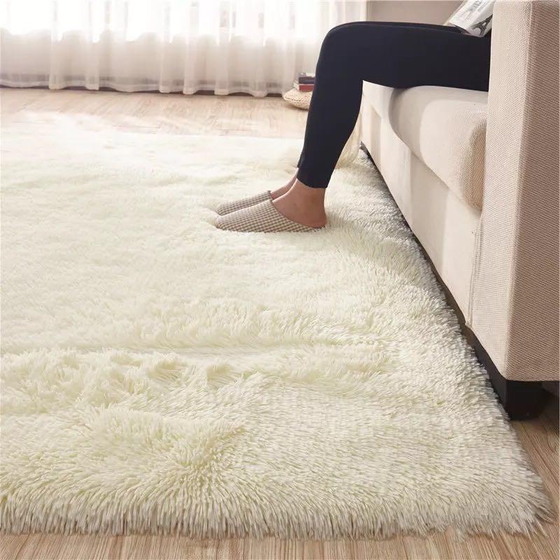铺床毯子地毯幼儿园地垫绒毛过道坐垫大厅色毯丝加厚沙发床地毡长