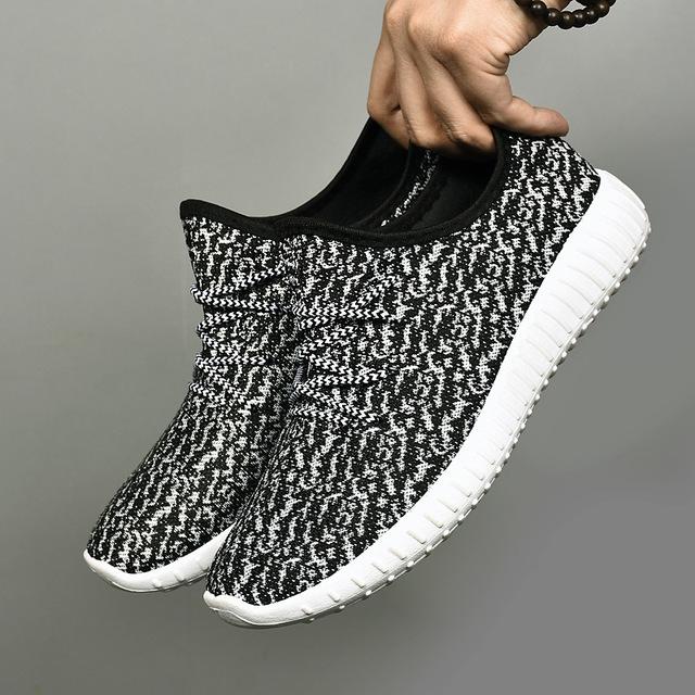 001--运动鞋男 侃爷椰子鞋情侣款网布透气休闲鞋外贸爆款男鞋跑步鞋优品优质