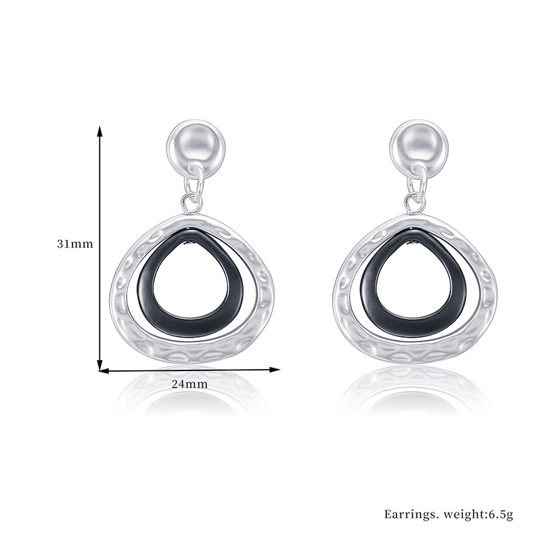 Alloy Fashion Geometric earring  (66189021) NHXS2166-66189021