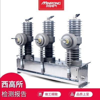 厂家直销户外高压真空断路器10KV柱上开关ZW32-12/630-25ka 智能