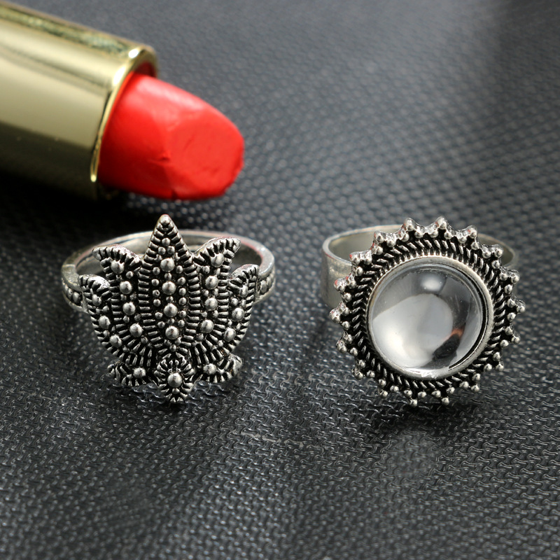 Alloy Fashion Sweetheart Ring(Main color) NHGY1725-Main color
