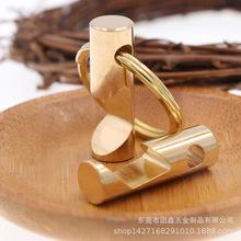 创意纯黄铜开瓶器啤酒瓶起子个性DIY钥匙扣挂件户外随身EDC小工具