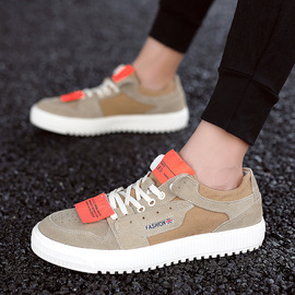 Spring and autumn youth leisure wild white shoes men ins thick men's shoes tide street shoot fashion men's shoes