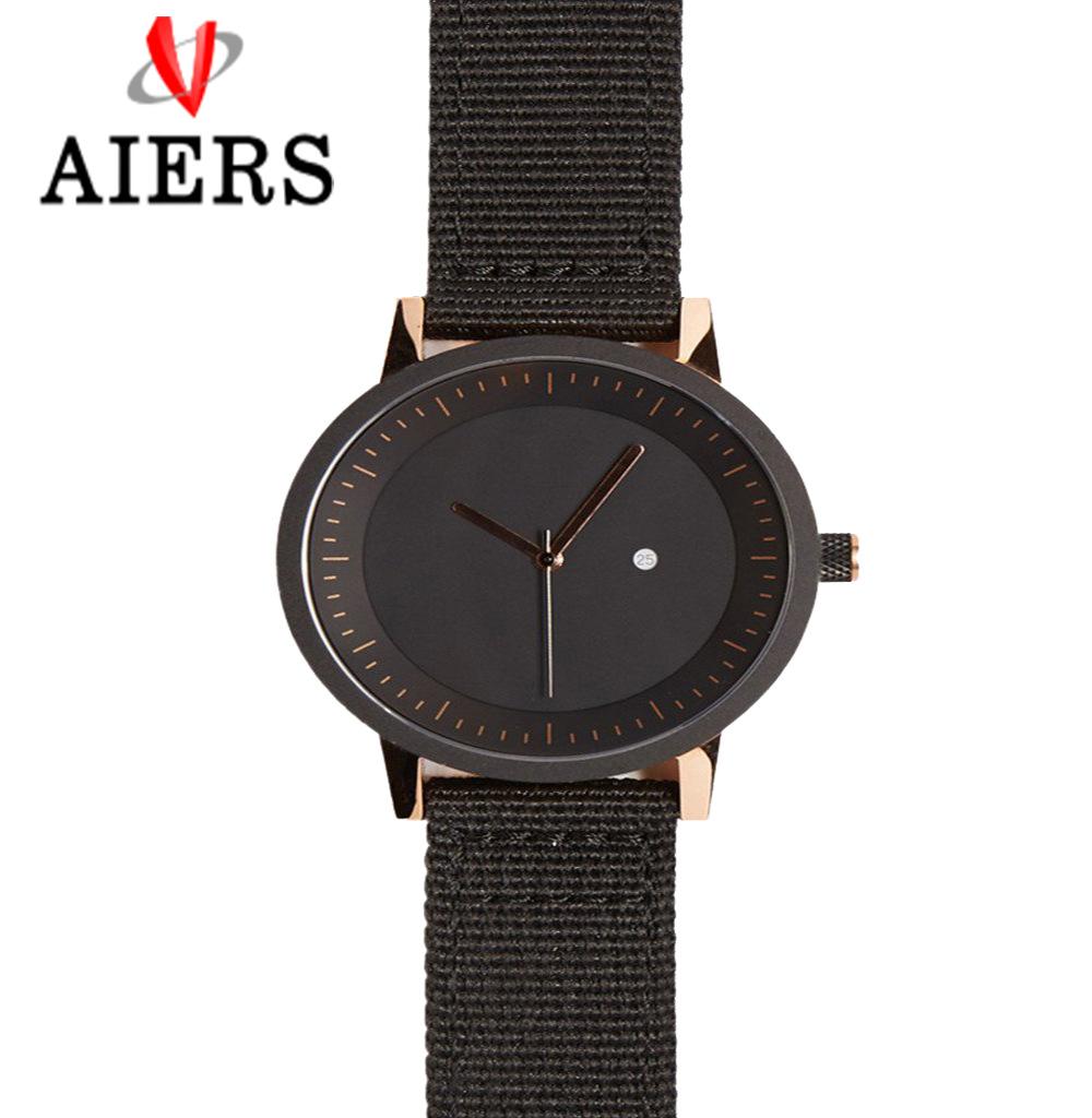 跨境外贸 新款奔驰男士韩版防水夜光商务潮流腕表品牌男石英手表