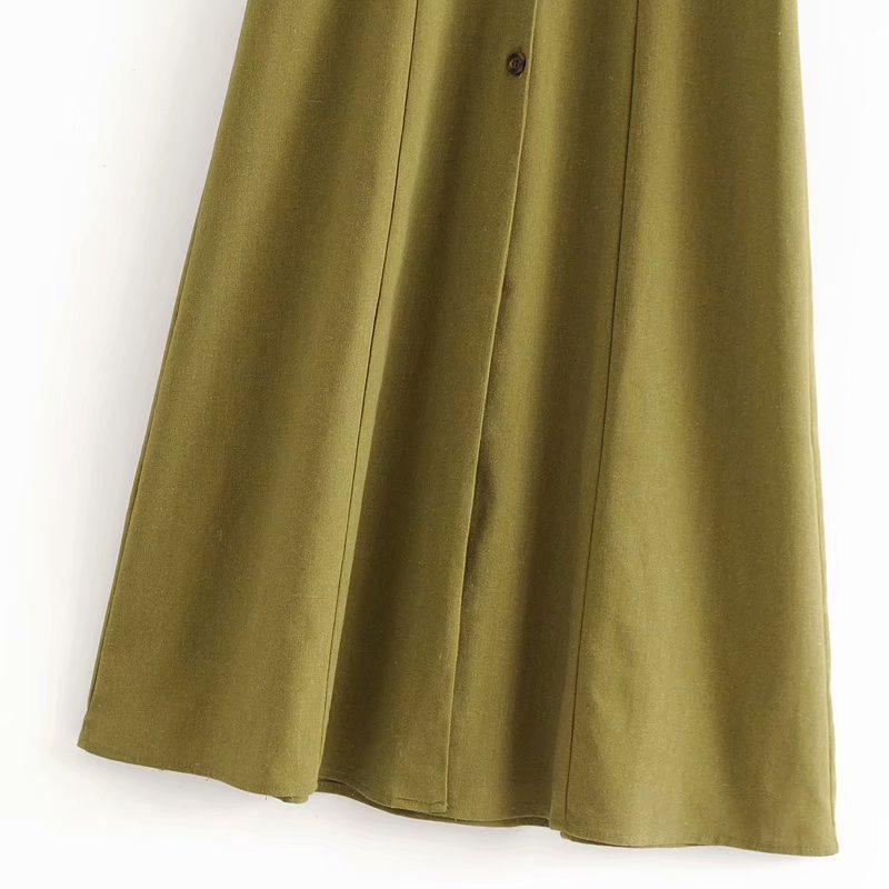 Cotton Fashionskirt(Picture color -L) NHAM4399-Picture-color-L