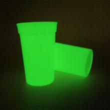 定制夜光变色塑料杯酒吧夜光杯 PP材质夜光杯荧光杯 可以定制logo