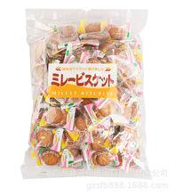 平野美乐园南乳小圆饼 500g/包 日本进口零食批发 黄油饼干