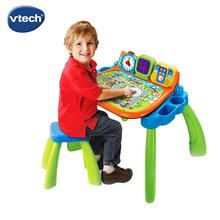 儿童益智点触学习桌 宝宝三合一多功能早教机玩具游戏台 节日礼物