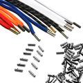 厂家直销直径4mm长度18mm纯铜金属子弹头裤绳头帽绳头吊钟尾夹