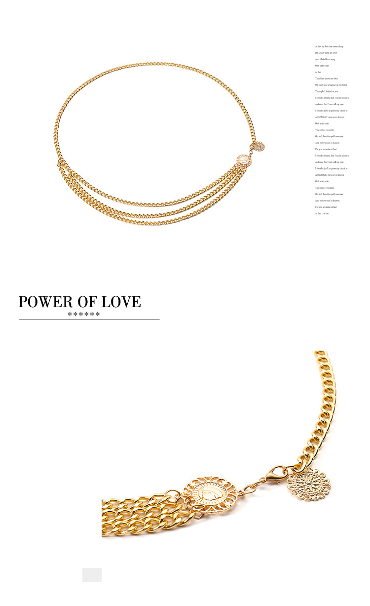 Alloy Vintage Geometric Body accessories  (Alloy 0370) NHXR2489-Alloy-0370