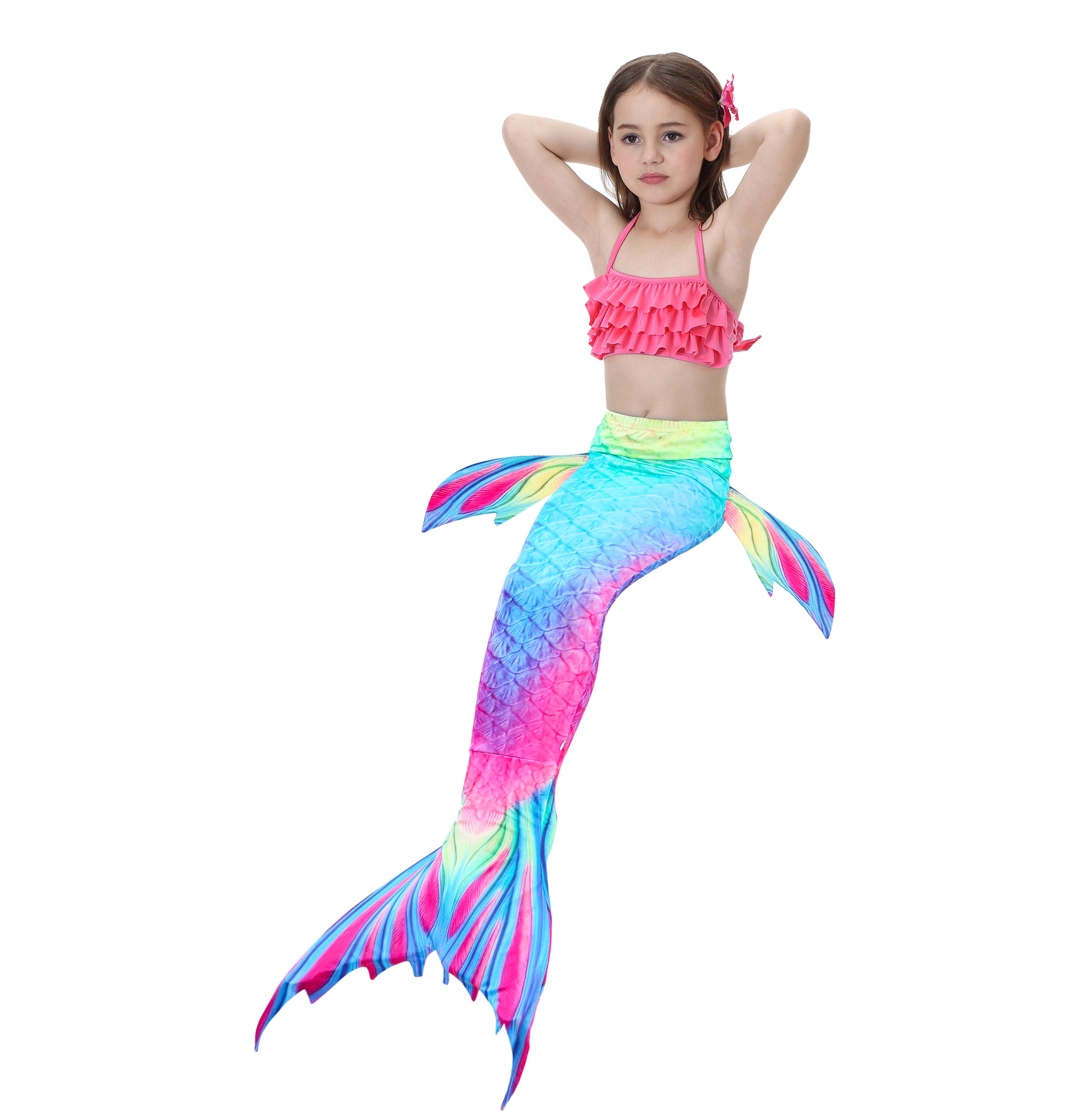 Detail Feedback Questions about 2018 Kids Children Mermaid Tails for Swimming Mermaid tail with Monofin Girls Costumes Swimmable Swimsuit with Bikini Flipper on Aliexpress.com - alibaba group - 웹