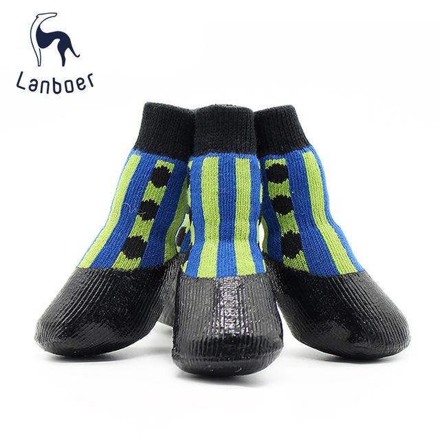 批发供应防水宠物鞋袜狗狗 Waterproof Pet sock宠物鞋袜