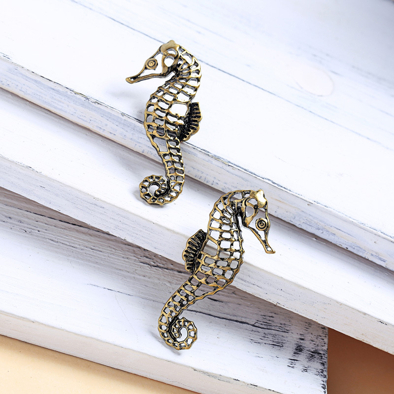 Alloy Fashion Animal earring  (Photo Color) NHQD5622-Photo-Color