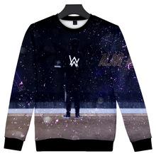 歐美電音DJ艾倫沃克周邊衛衣Alan Olav Walker宇宙星空原宿上衣潮