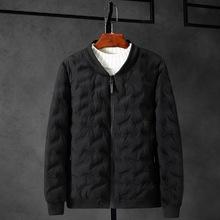 冬季男士加肥加大羽绒棉棉服特大码肥佬潮胖子男宽松加厚棉衣外套