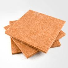 厂家定制聚酯纤维吸音板防火隔音板 木丝木质穿孔吸音吸声板加工