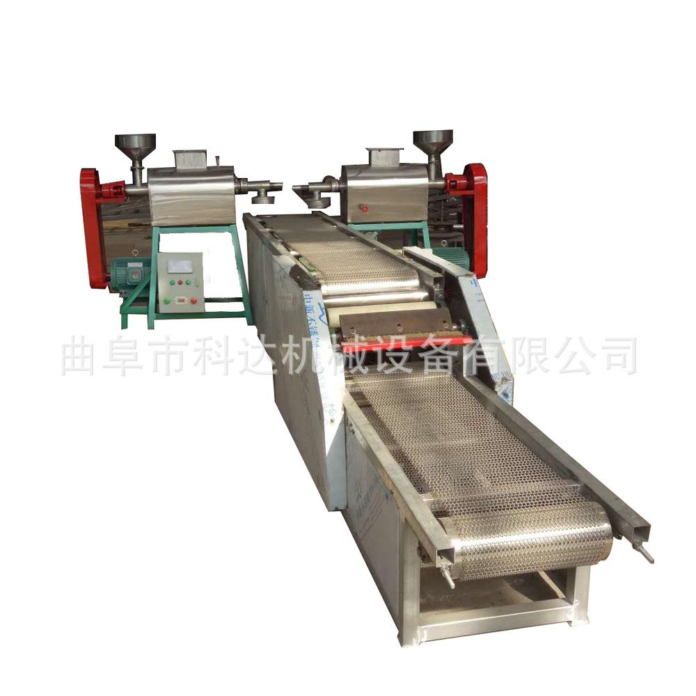 供应重庆大中小不锈钢免搓洗粉条机设备 自动切割红薯粉条机图片