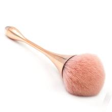 新款单支粉底刷 美妆工具水滴小蛮腰化妆刷 高脚杯彩妆化妆刷批发