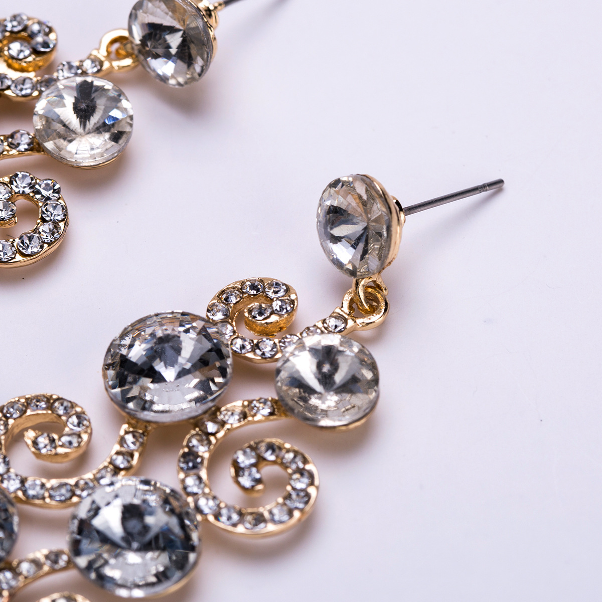 Alloy Fashion Flowers earring  (Alloy) NHJE1500-Alloy