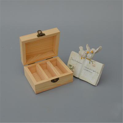 小木盒定制厂家直销批发 优质实木定制收纳盒 展示木盒