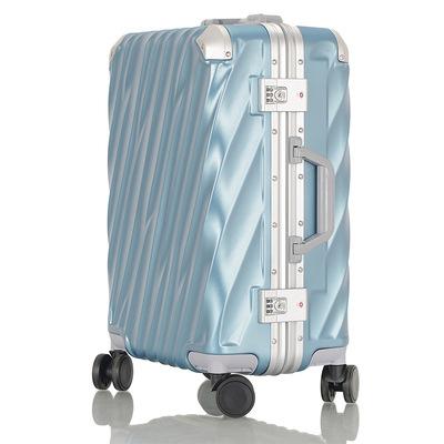 厂家直销ABS+PC铝框拉杆箱万向轮防刮花登机行李箱学生密码箱男女